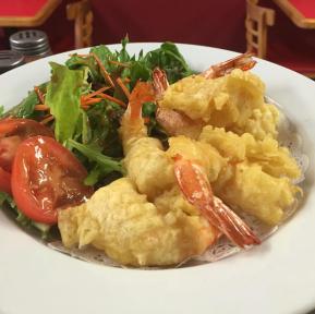 Shrimp tempura!