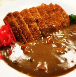 Curry rice with chicken Katsu