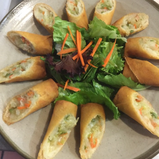 Egg roll appetizer